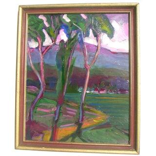 Modernist Californian Landscape by J. Guzman