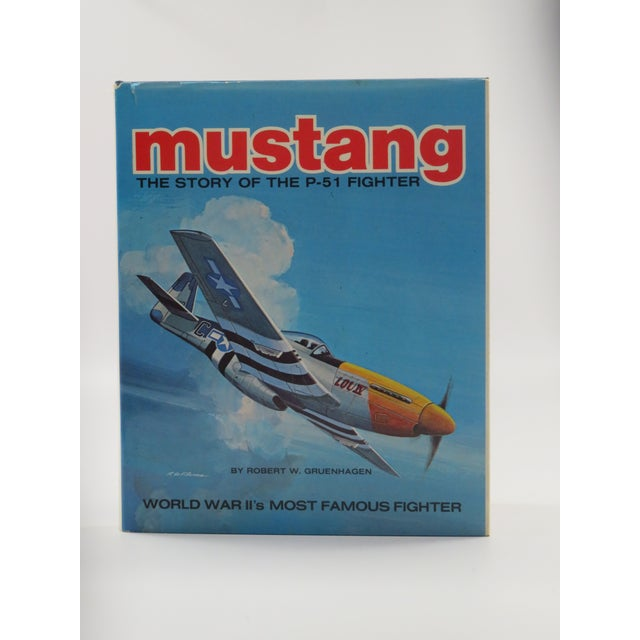 Image of Vintage 'Mustang, Story of the P-51 Fighter' Book