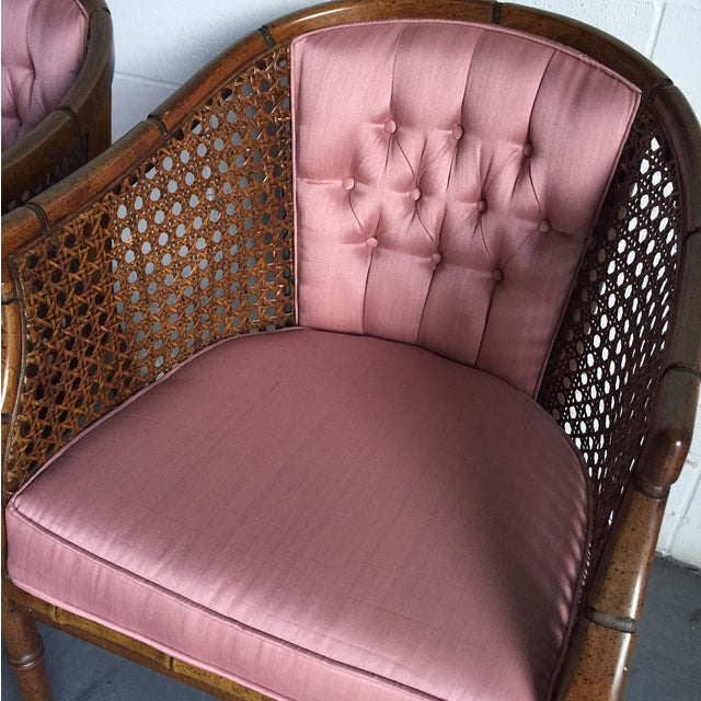 Hollywood Regency Vintage Chairs - a Pair - Image 5 of 8