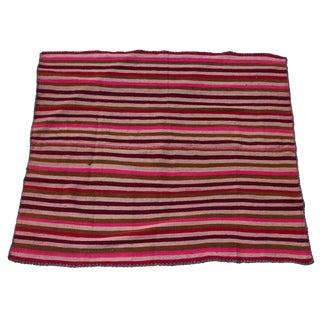 "Peruvian Wool Frazada Throw -- 4'9"" x 5'8"""