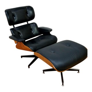 Plycraft Eames Style Lounge Chair With Ottoman