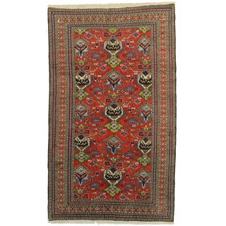 "Hand Knotted Wool Rug - 5'4"" x 8'9"""
