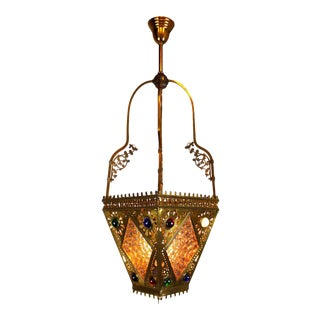 Victorian Aesthetic Movement Hall Lantern