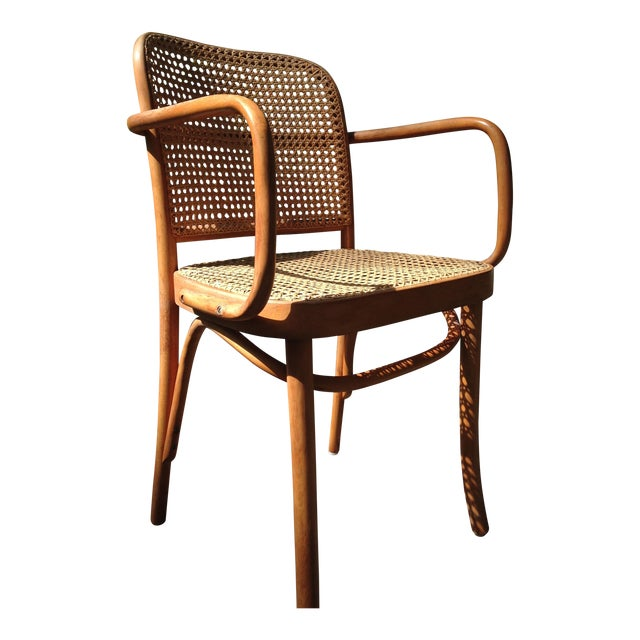 Josef Hoffman for Thonet Bentwood Arm Chairs - S/4 - Image 1 of 11