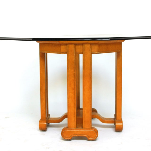 Asian Octagonal Dining Table - Image 3 of 6
