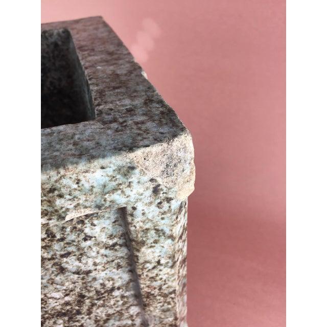 Arts & Crafts Mission Craftsman Glazed Terra Cotta Planter - Image 6 of 11