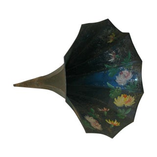 Hand Painted Victrola Speaker Cone