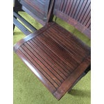 Image of Theater/Train Station 4 Seat Folding Bench