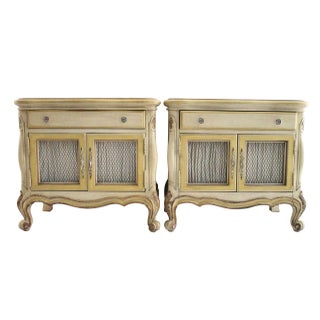 French Style End Tables - A Pair