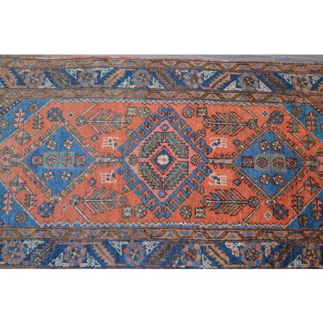 """Antique Persian Heriz Rug - 3' x 5'7"""" - Image 6 of 11"""