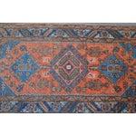 """Image of Antique Persian Heriz Rug - 3' x 5'7"""""""
