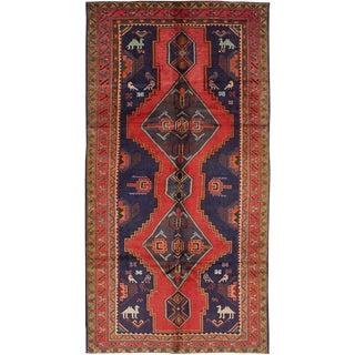 "Vintage Persian Meshkin Rug - 5' x 9'11"""