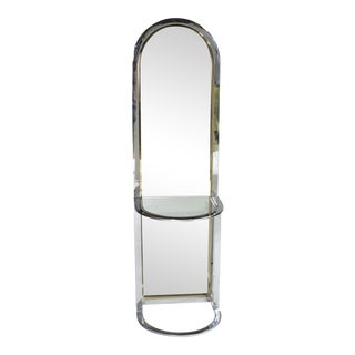 Pace Collection Entryway Free Standing Racetrack Mirror