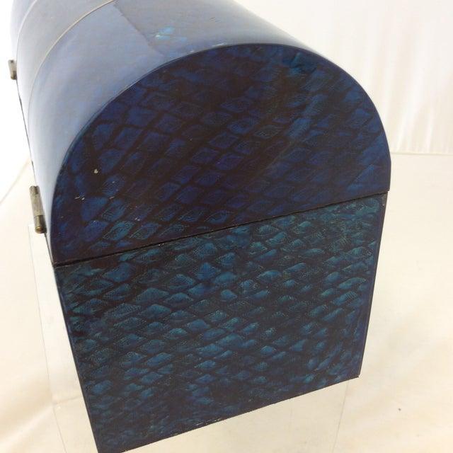 Maitland- Smith Lapis & Penshell Box - Image 8 of 11