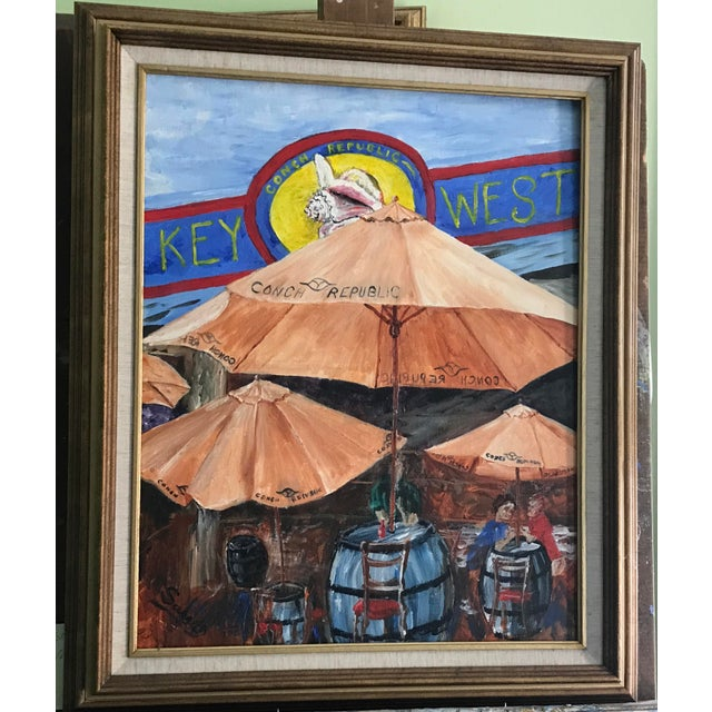 Image of Key West Frame of Mind Painting