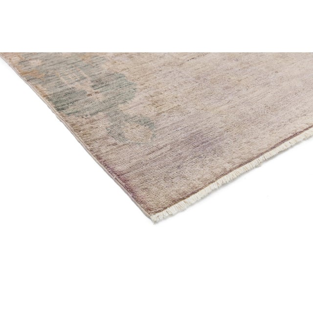 """Image of Moroccan Hand Knotted Area Rug - 4' X 6'1"""""""