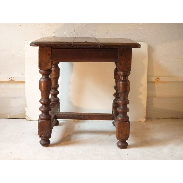 18th century antique french small table chairish for Table th width ignored