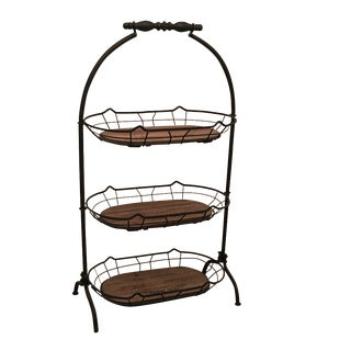 Vintage 3-Tier Basket