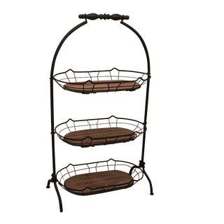 Vintage 3-Tier Basket