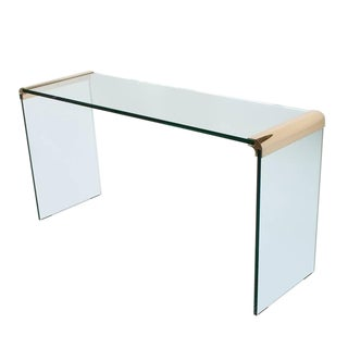 Leon Rosen for Pace Waterfall Console Table-Pair Available