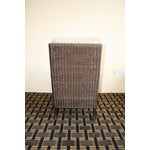 Image of McGuire Thomas Pheasant Woven Core Club Chair