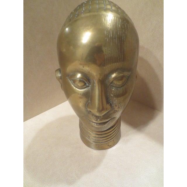 1980 Dolbi Cashier Brass Female Head - Image 2 of 7