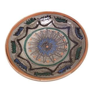 Handmade Romanian Pottery Bowl