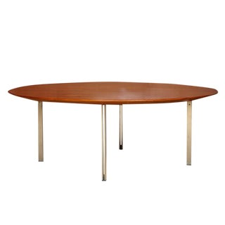 Florence Knoll Parallele Bar Teak Cocktail Table