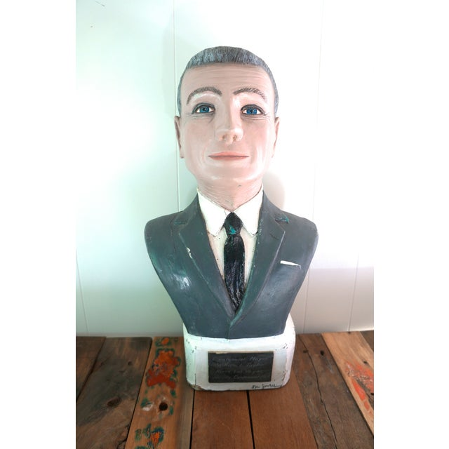 Image of Folk Art Man Sculpture