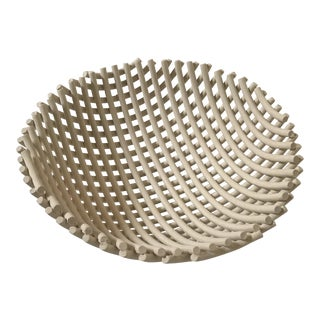 Driade 'Samos' Ceramic Bowl Centerpiece by Enzo Mari