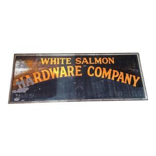 Antique Hardware Storefront Sign