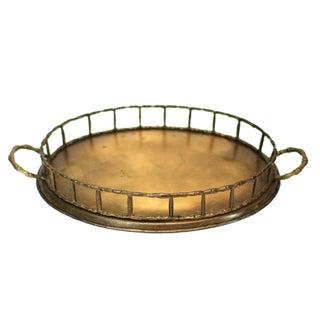 Mid-Century Vintage Brass Tray
