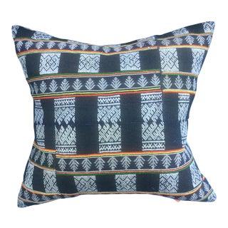 Asian Tribal Textile Pillow