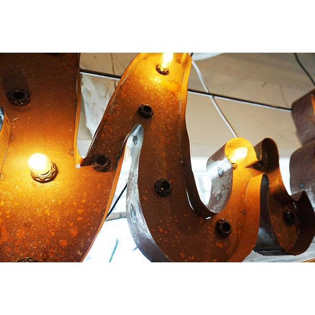 Image of Metal Mr. And Mrs. Sign