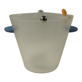 Michael Graves Frosted Lucite Ice Bucket