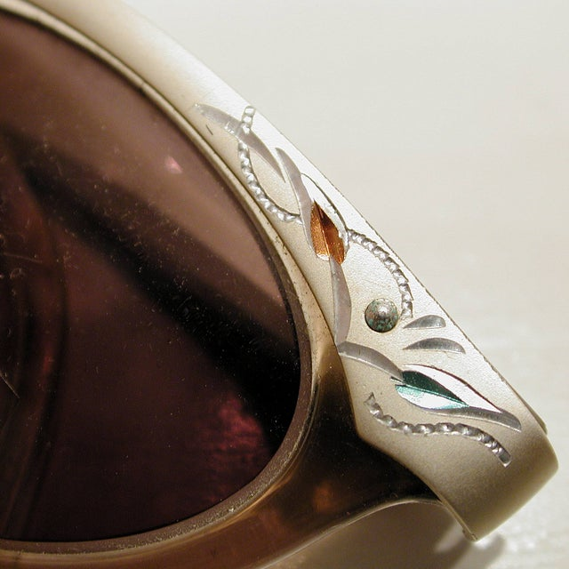 Image of 1950s American Optical Cats Eye Glasses
