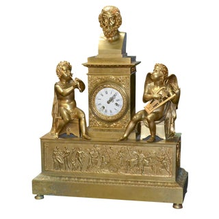Fine 19th C. French Mantel Clock
