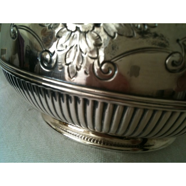 Image of Antique Silver Plate Coffee Server