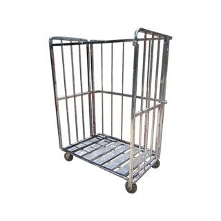 Industrial Rolling Freight Cart Garment Rack