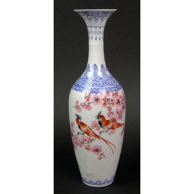 """Antique Chinese """"Eggshell"""" Porcelain Vase - Image 3 of 7"""