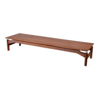 Greta Grossman for Glenn of California Walnut Coffee Table