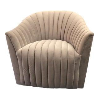 Weiman Velvet Swivel Chair