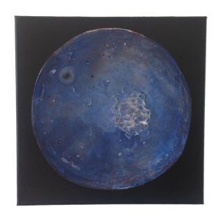 Blue Moon Acrylic Painting
