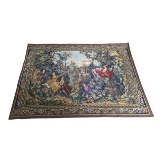 Fragonard's the Swing Belgian Tapestry