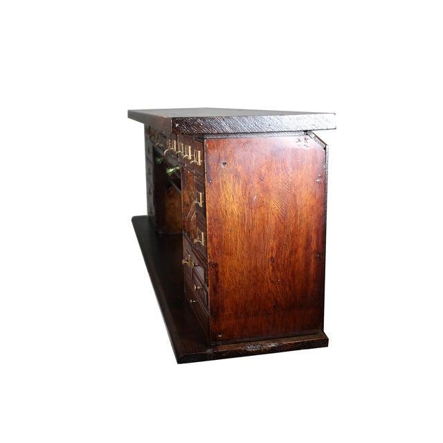1900 Antique Oak Desk Top - Image 6 of 7