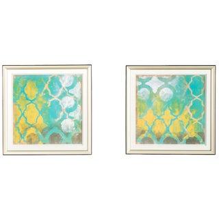 Diamond Wall Art Pieces - A Pair