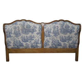 Vintage French Louis XV Style Headboard
