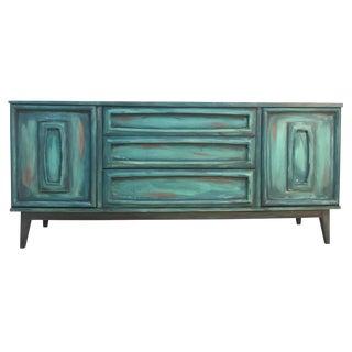 Vintage Mid-Century Artisan Sideboard