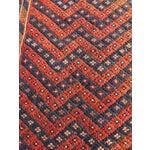 """Image of Vintage Persian Sumac Runner- 2'1"""" x 7'2"""""""