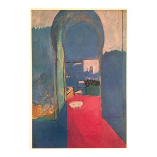 "Matisse Original Vintage 1973 Lithograph Print ""Entrance to the Kasbah La Porte"", 1912"
